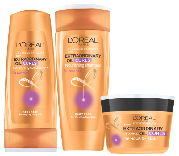 L'Oréal Advanced Haircare Extraordinary Oil Curls Collection