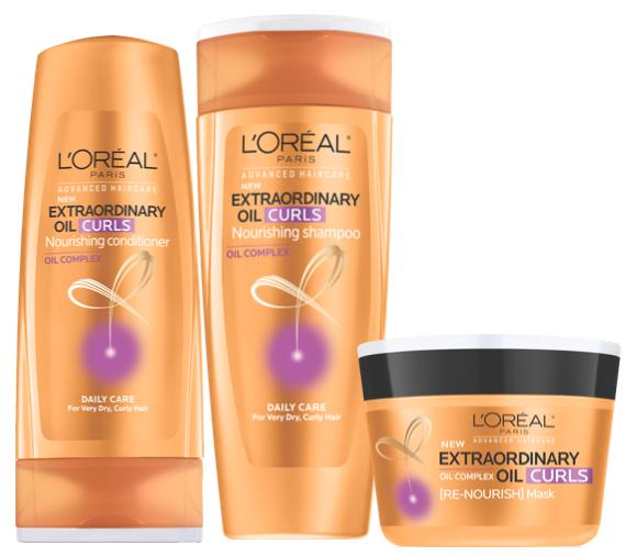 L'Oréal Paris Advanced Haircare Extraordinary Oil Curls Collection