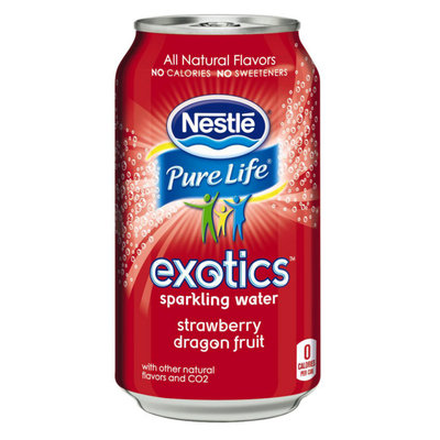 Nestlé Pure Life® Exotics™ Strawberry Dragon Fruit Sparkling Water