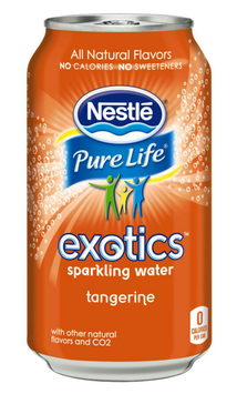 Nestlé Pure Life® Exotics™ Tangerine Sparkling Water