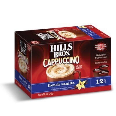Hills Bros. Cappuccino Single Serve Cups, French Vanilla