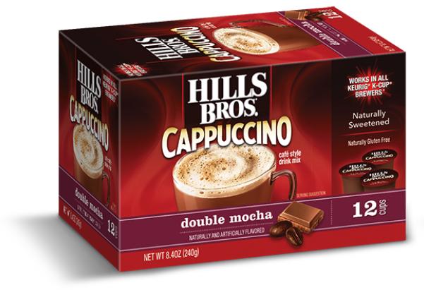 Hills Bros Cappuccino Single Serve Cups Double Mocha