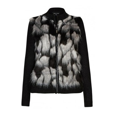 City Chic Faux Fur Cardi