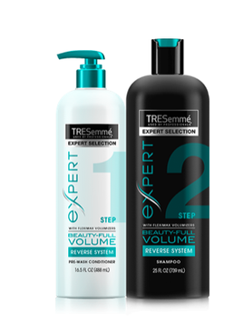 TRESemmé Beauty-FULL Volume Pre-Wash Conditioner & Shampoo