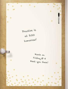 Dry Erase Board - Confetti Dots