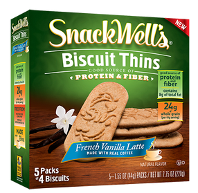 SnackWell's French Vanilla Latte Biscuit Thins