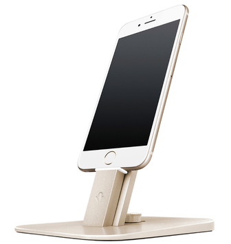 HiRise Deluxe Charging Stand for Devices, Gold