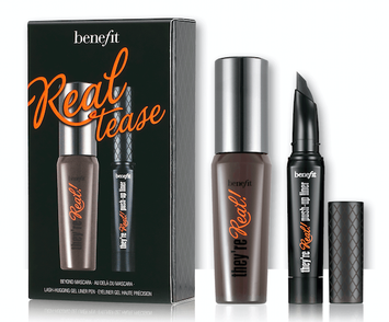 Benefit Cosmetics Real Tease They're Real! Mascara & Liner Set