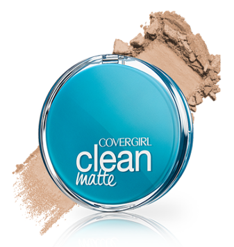 COVERGIRL Clean Matte Pressed Powder