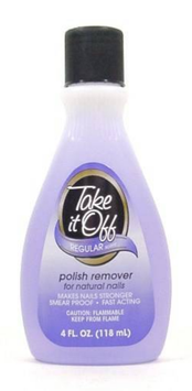 Take It Off For Natural Nails Regular Scent Nail Polish Remover