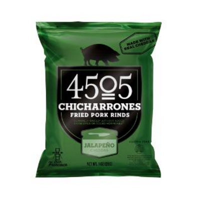 4505 Chicharrones Fried Pork Rinds Jalapeno