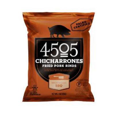 4504 Chicharrones Fried Pork Rinds Smokehouse BBQ