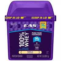 EAS Whey Protein Supplement Vanilla