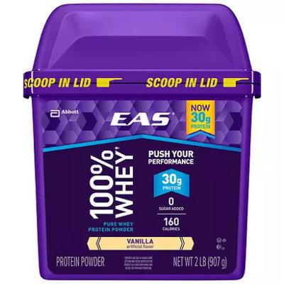 EAS Whey Protein Supplement Vanilla