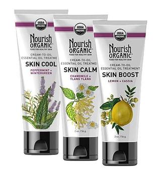 Nourish Organic Aromatherapeutic Skincare Collection