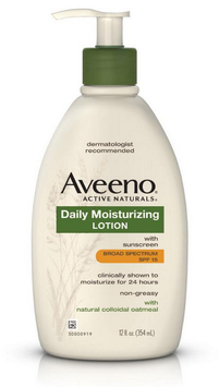 AVEENO® Daily Moisturizing Lotion with Broad Spectrum SPF 15