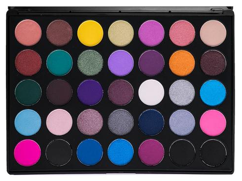 Morphe 35S - 35 Color Smokey Eye Eyeshadow Palette