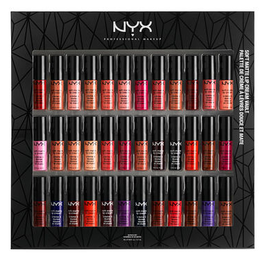 NYX Liquid Suede Lip Cream Vault Set