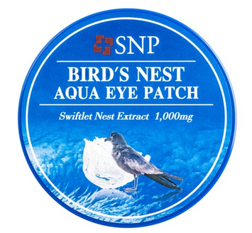 Birds Nest Aqua Eye Patch