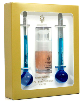 BSB Beauty Globes + De-Puff & Smoothing Serum for Eyes