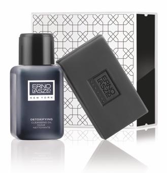 Erno Laszlo Detoxifying Double Cleanse Travel Set (Exfoliate & Detox)