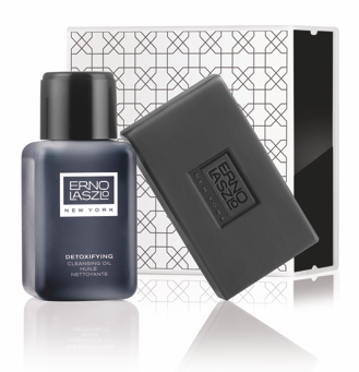 Erno Laszlo Detoxifying Double Cleanse Travel Set (Exfoliate & Detox)