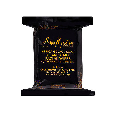 SheaMoisture African Black Soap Clarifying Facial Wipes