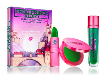 Frog Prince Story Lipstick, Lip Gloss & Blush Set