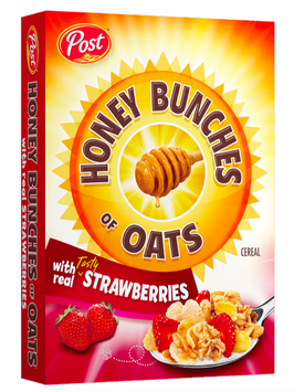 Honey Bunches of Oats with Real Strawberries