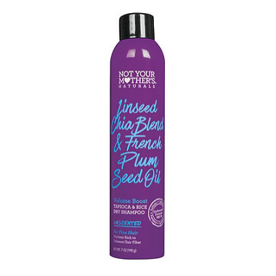 Not Your Mother's® Naturals Linseed Chia Blend & French Plum Seed Oil Volume Boost Tapioca & Rice Dry Shampoo