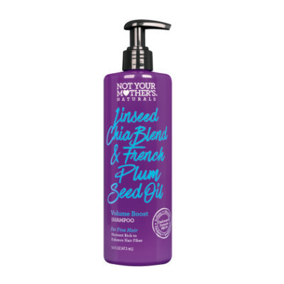 Not Your Mother's® Naturals Linseed Chia Blend & French Plum Seed Oil Volume Boost Shampoo