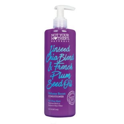 Not Your Mother's® Naturals Linseed Chia Blend & French Plum Seed Oil Volume Boost Conditioner