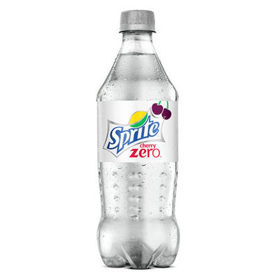 Sprite Cherry Zero Naturally Lemon-lime & Cherry Flavored Soda With Other Natural Flavors