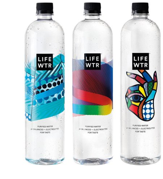 LIFEWTR Purified Bottle Water