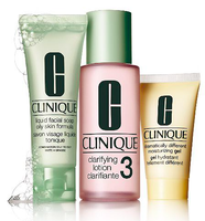 Clinique 3-Step Skin Care System For Skin Type 3