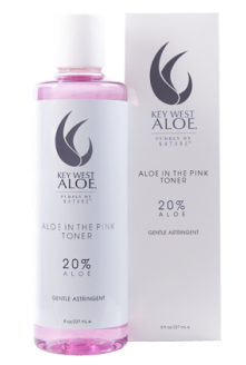 Key West Aloe in the Pink Toner