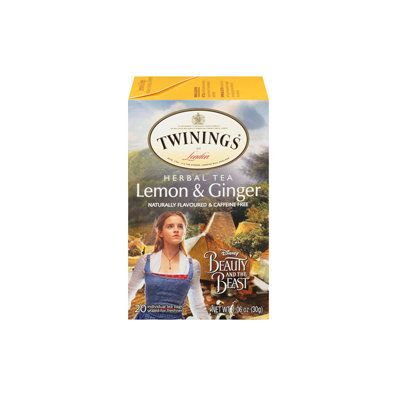 Twinings® Beauty And The Beast Lemon & Ginger Tea