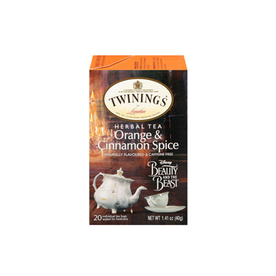 Twinings® Beauty And The Beast Orange & Cinnamon Spice Tea
