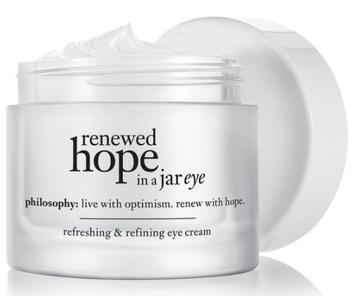 philosophy renewed hope in a jar eye refreshing & refining eye cream