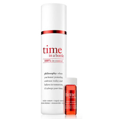 philosophy time in a bottle 100% in control daily age-defying serum