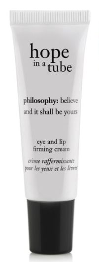 philosophy hope in a tube high-density eye and lip firming cream