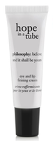philosophy hope in a tube high-density eye and lip firming cream