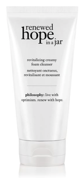 philosophy renewed hope in a jar revitalizing creamy foam cleanser