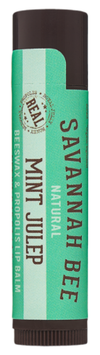 Savannah Bee Natural Beeswax Lip Balm Mint Julep