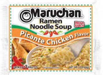 Maruchan Ramen Noodle Soup Picante Chicken Flavor