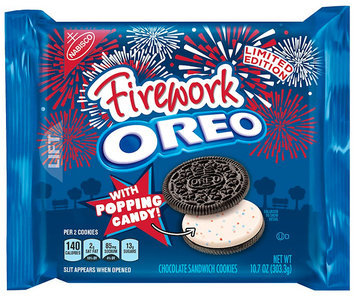 Firework Oreo Cookie Sandwich