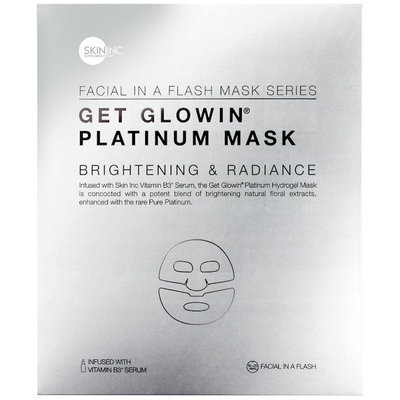 Skin Inc GET GLOWIN® PLATINUM MASK for brightening and radiance