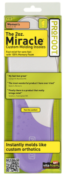 PROFOOT 2oz. Miracle Insoles, Women's
