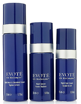 Evoté Beauty 12h BioComplex 3-Piece Age Defying EVO-lution Night Transformation Set