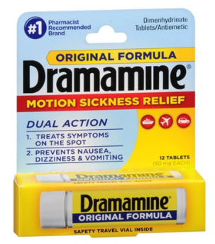 Dramamine Original Formula Motion Sickness Relief Tablets